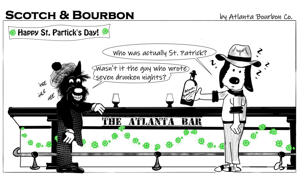 Scotch & Bourbon Cartoon: Atlanta St. Patrick's Day 2019 #6
