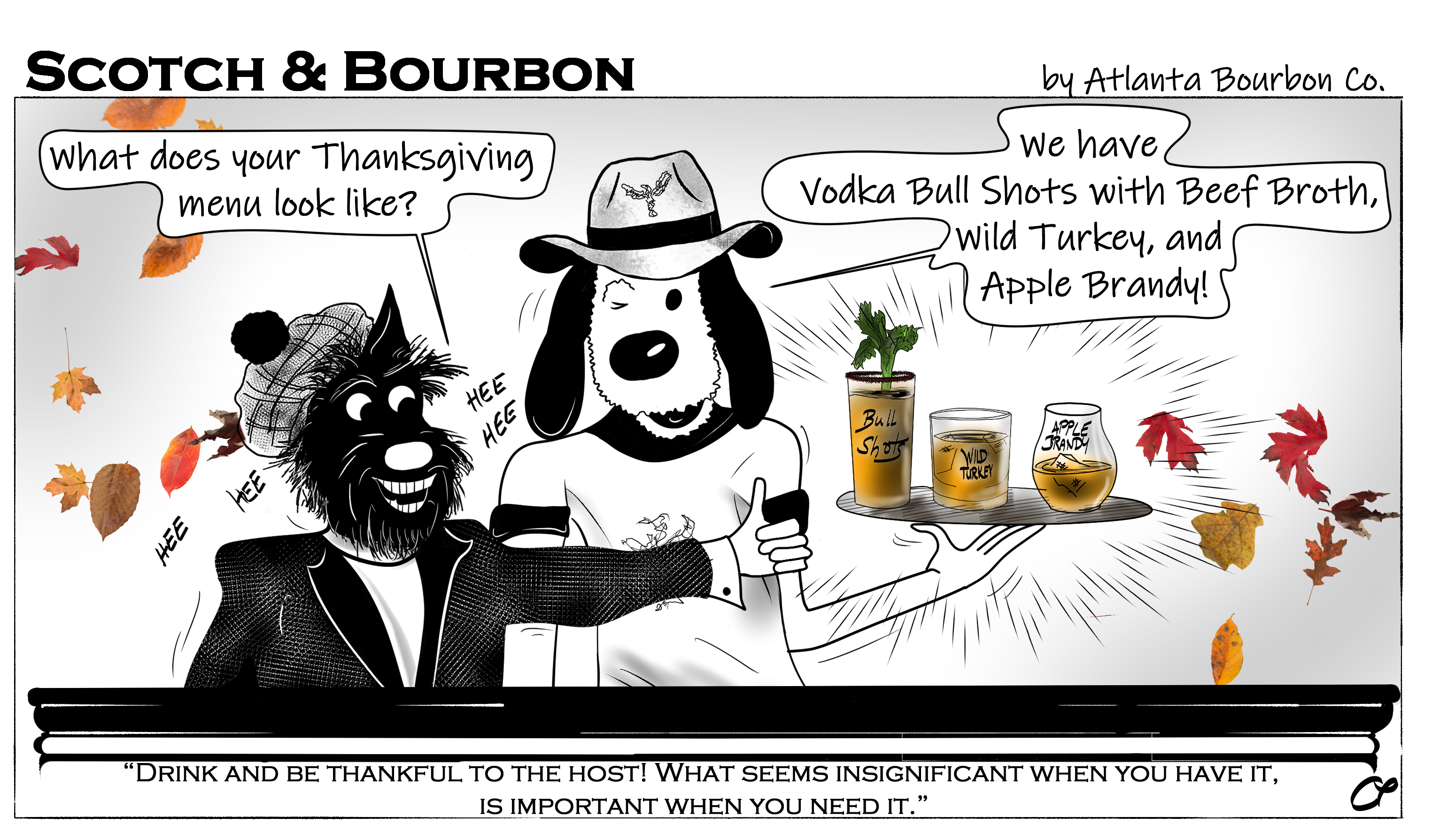 ScotchAndBourbonThanksgivingCartoon