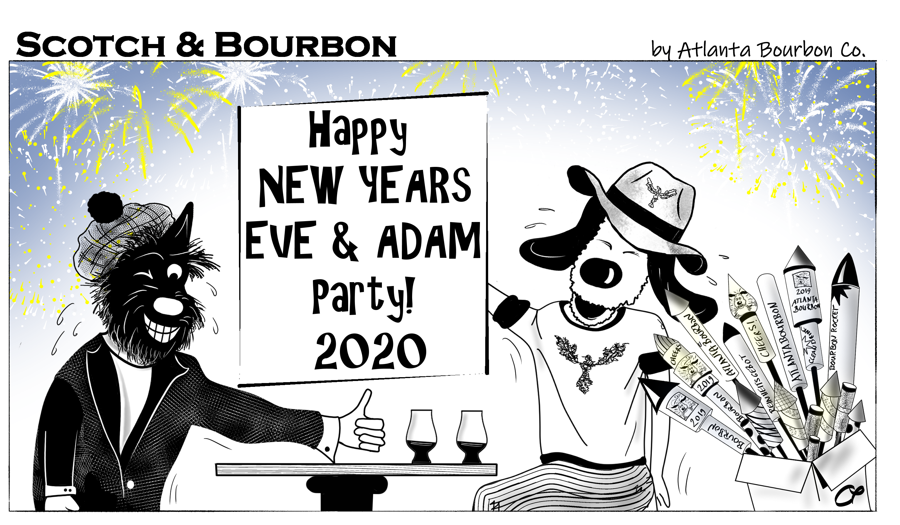 ScotchAndBourbon_Scotchnog_Xmas_2019_AtlantaBourbonCompany_Cartoon